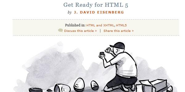 A List Apart HTML5 Lesson