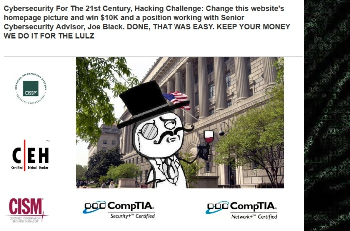 LulzSec Website Picture