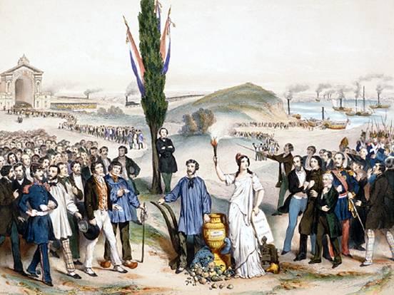 Suffrage universel dédié à Ledru-Rollin