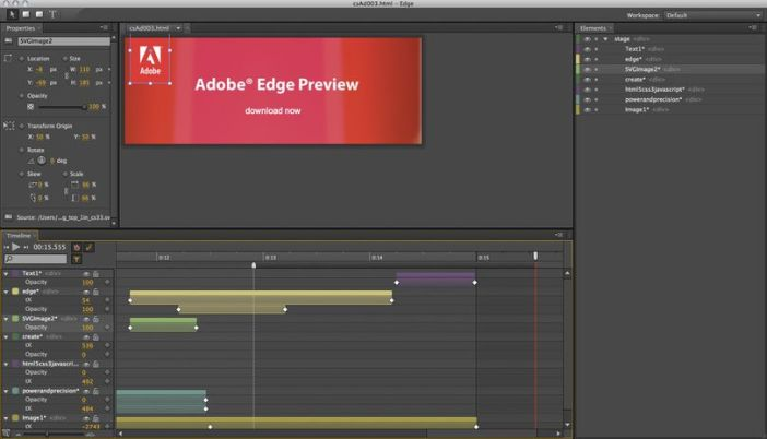 Adobe Edge on a Mac